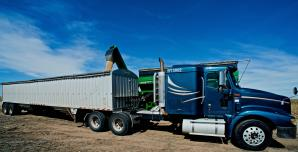 Grain hopper trailer