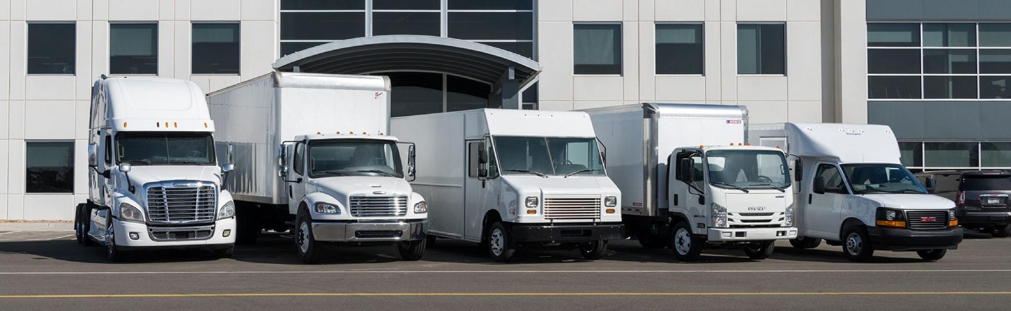 Transwest Package Delivery Fleet