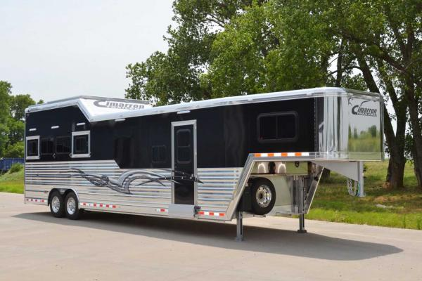 Cimarron Horse Trailers at Transwest