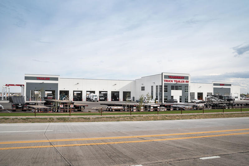 Transwest Trailers Building